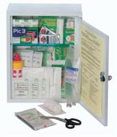 FIRST AID CASE - MEDIUM KIT - metal cabinet