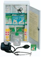 FIRST AID CASE - LARGE KIT - metal cabinet